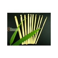 Bamboo Crochet Hooks - Set of 10 Sizes  10 -