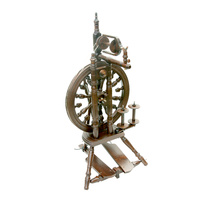 Kromski Minstrel Spinning Wheel Walnut Finish