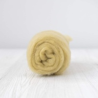 Sage Carded  Short Fibre Wool