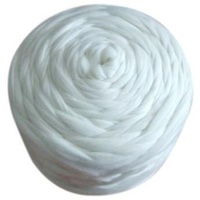 DHG 16.5 Micron White Merino Tops 100gm