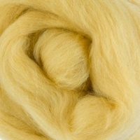 Natural Dyed Wool Rovings - Amber (Coreopsis)