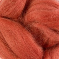 Natural Dyed Wool Roving - Ladybug (Madder)