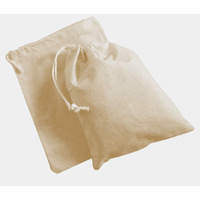 Calico Draw String Library Bag 40 x 30cm