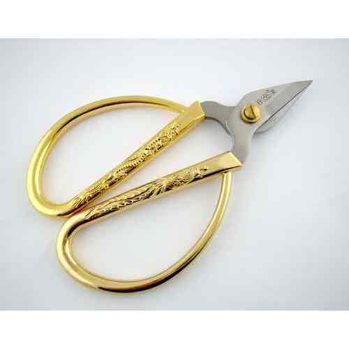 Gold Plate Embroidery Scissors 10cm