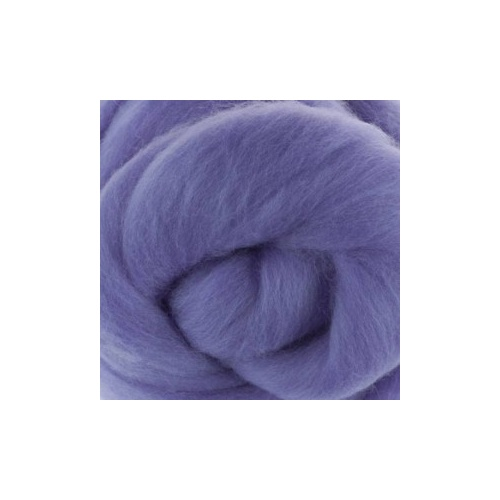 Lilac (Lilla) Wool Tops (Size: 50gm)