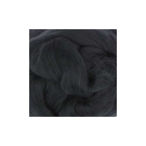 Graphite (Grafite) Wool Tops (Size: 50gm)