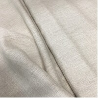 Unbleached Natural Pure Linen 135gsm 140cm 10mtr roll