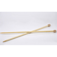 Bamboo Knitting Needles Size 8mm 34cm long