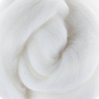 DHG Wool Tops 19 Micron MILK