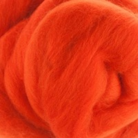 Orange(Arancia) Wool Tops