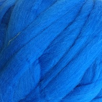 21 Micron Craft Wool Tops SKY BLUE