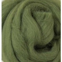 21 Micron Craft Wool Tops KHAKI