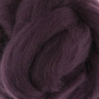 DHG Wool Tops 19 Micron PURPLE