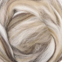 Cappuchino Wool/Silk Tops Blends