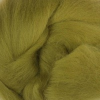 DHG Wool Tops 19 Micron OLIVE