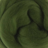 DHG Wool Tops 19 Micron IVY