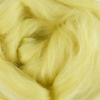 DHG Natural Dyed Wool Rovings  - Genista (Turmeric)