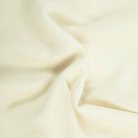 Wool Etamine (Challis) Raw White 145cm wide per Mtr
