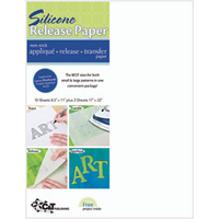 Silicone Release Paper - pkt 10 Sheets