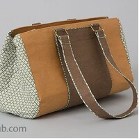 "Kraft - tex  Kraft paper fabric  19"" x 9mtrs Bolt Chocolate"