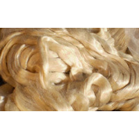 Tussah Silk Tops Natural 250gm