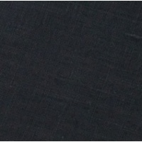 Black Linen  Cotton Blend 145cm wide - 55% Linen, 45% cotton mtr