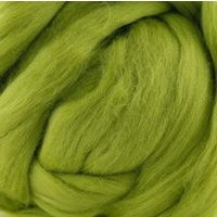 25 Micron Wool Tops Bright Green
