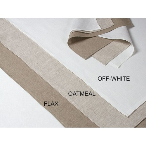 Pure Linen Tea Towel  - OATMEAL  50 x 70cm