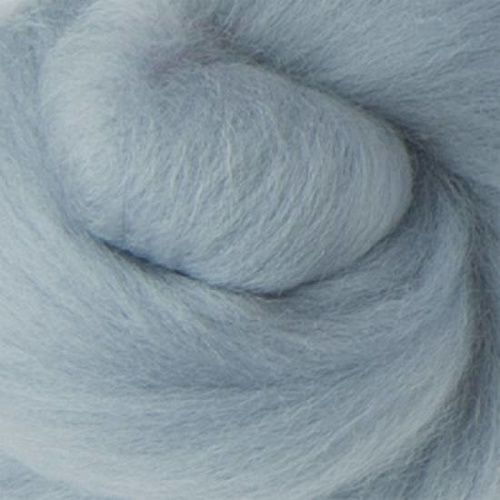 Shabby Grey Wool Tops 19 micron (Size: 100gm)