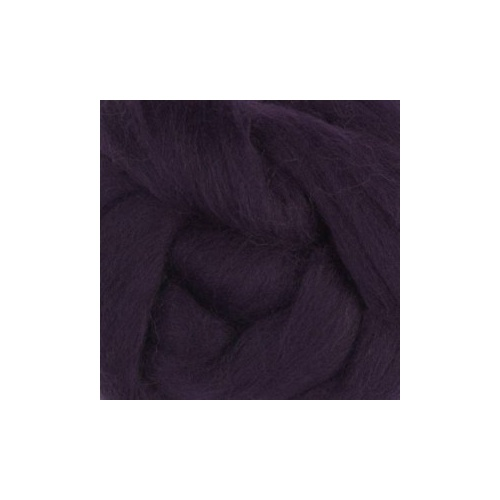 Blackberry  Wool Tops 19 micron  (Size: 100gm)