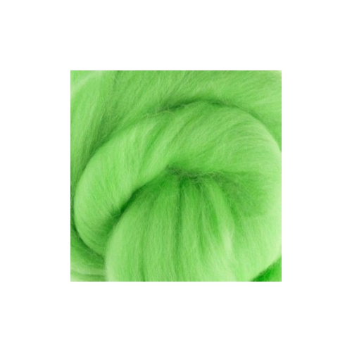 Mint Wool Tops 19 micron (Size: 100gm)