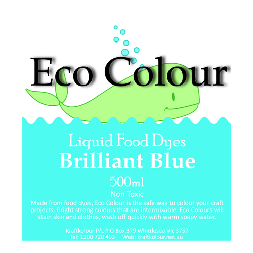 Eco Colour Brilliant Blue 500ml