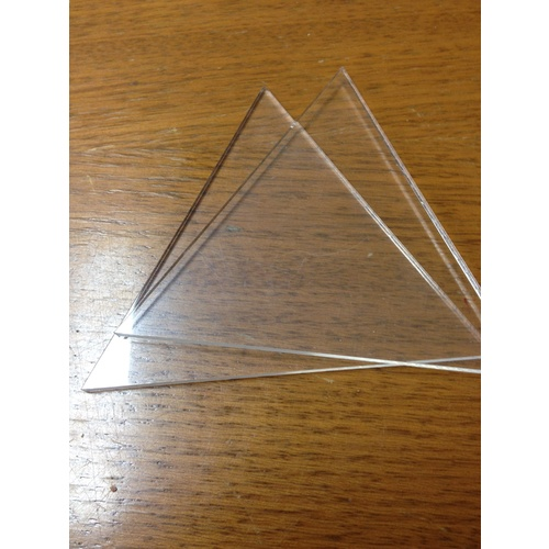 Itajime Triangles Equilateral (Size: Pair 5cm)