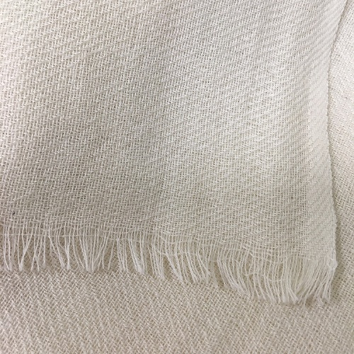 Wool Twill Scarf with short fringe 70 x 200cm - Pkt 6